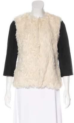 Gryphon Faux Fur Jacket