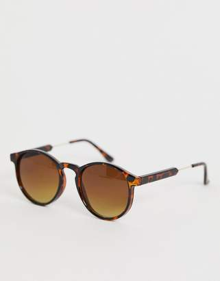 A. J. Morgan Aj Morgan AJ Morgan round tort frame sunglasses