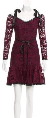 Alexis Lace Cold Shoulder Dress w/ Tags