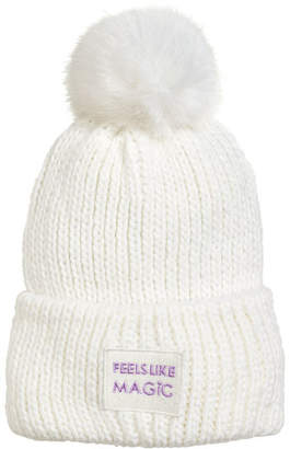 H&M Rib-knit hat - White