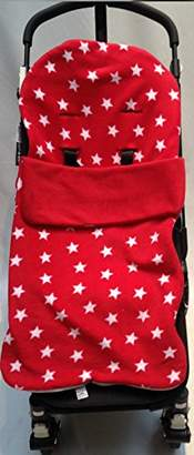 Maclaren Snuggle Footmuff/Cosy Toes Compatible with Techno XT/Quest / XLR/Volo Red Star