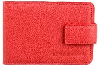 Longchamp Leather Compact Mirror