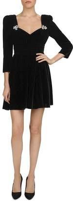 The Kooples Velvet Mini Dress