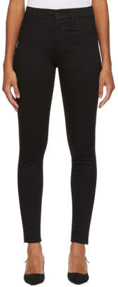 Levi's Levis Black 720 High-Rise Super Skinny Jeans