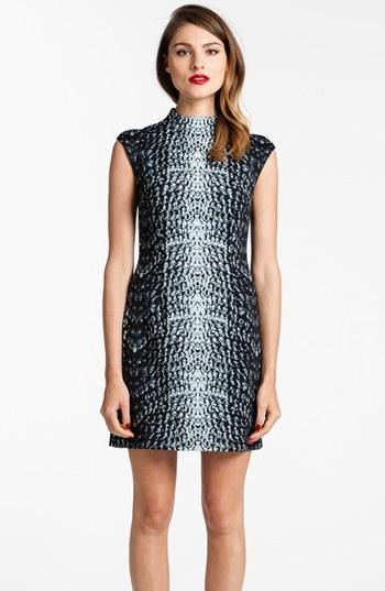 Cynthia Steffe 'Lenora' Reptile Print Scuba Dress