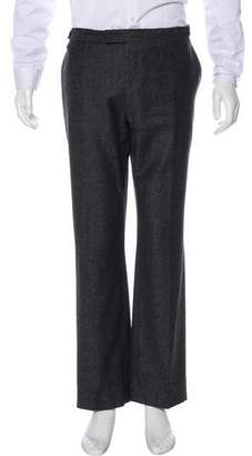 John Varvatos Virgin Wool Relaxed Pants