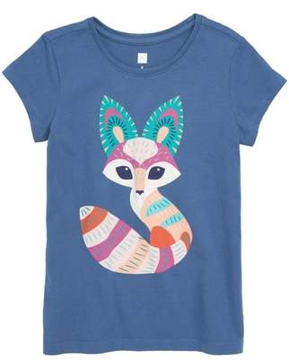 Tea Collection Desert Fox Graphic Tee