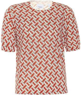 Burberry Monogram merino wool top