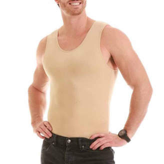 INSTA SLIM Insta Slim Men's Compression Muscle Tank Shirt