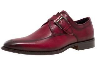 Jump Newyork Men's Merlot Monk Strap Dress Shoe 8 D US Men