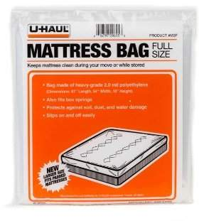 Uhaul Mattress Bag Protector (Full) 87 x 54 x 10