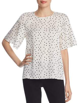 Vince Camuto Bell Sleeve Polka Dot Top - 100% Exclusive