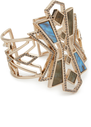 Lulu Frost Odeon Cuff Bracelet $395 thestylecure.com