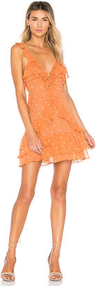 For Love & Lemons Analisa Polka Dot Tank Dress