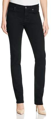 7 For All Mankind b(air) Kimmie Straight Leg Jeans in Black