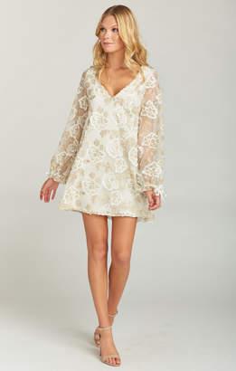 Show Me Your Mumu Webster Mini Dress ~ Precious Petals Lace