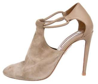 f796c7c697b Aquazzura Almond Toe Heels - ShopStyle Canada