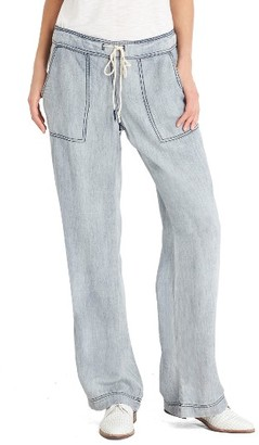 Women's Michael Stars Chambray Pants $168 thestylecure.com