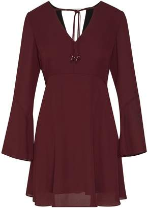 Sam Edelman Front Tie Bell Sleeve Dress