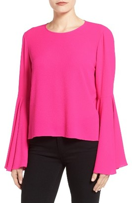 Women's Vince Camuto Bell Sleeve Blouse $89 thestylecure.com