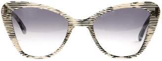 Prism Black Plastic Sunglasses