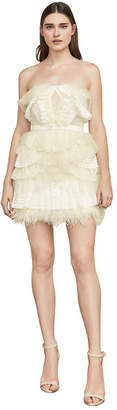 BCBGMAXAZRIA Owen Lace-Trimmed Dress