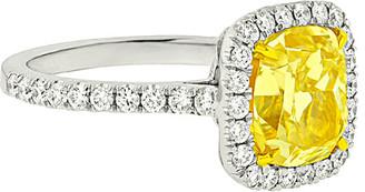Diana M. Fine Jewelry Platinum & 18K 4.77 Ct. Tw. Diamond Ring