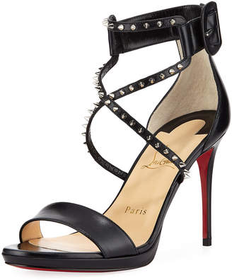 Christian Louboutin Choca Lux Red Sole Sandal