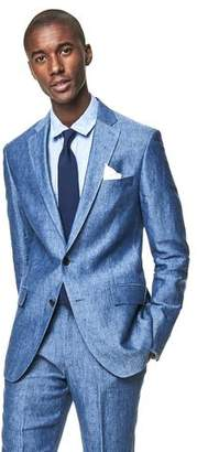 Todd Snyder White Label Sutton Linen Suit Jacket In Ice Blue