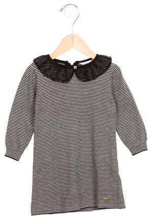 Little Marc JacobsLittle Marc Jacobs Girls' Striped Sweater Dress