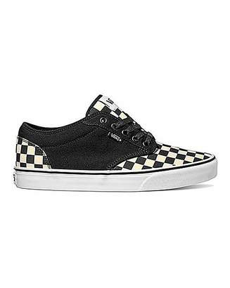 7e239536ea Vans Atwood Checkerboard Trainers