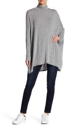 Free People Mock Neck Dolman Terry Tee