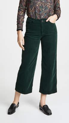 AG Jeans The Corduroy Etta Wide Leg Crop Jeans