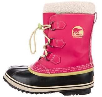 Sorel Round-Toe Rubber Mid-Calf Boots
