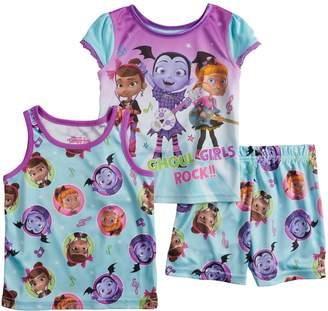 Disney Disney's Vampirina Toddler Girl Tops & Shorts Pajama Set
