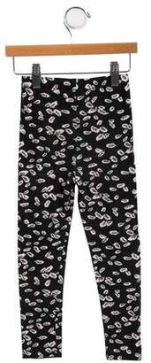 Imoga Girls' Leaf Print Leggings