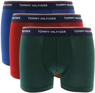 Underwear 3 Pack Trunks Red