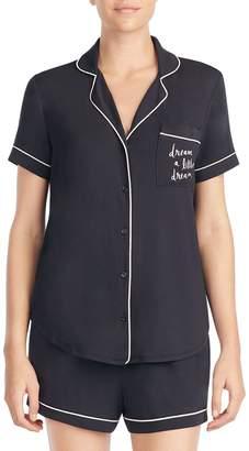 Kate Spade Two-Piece Short-Sleeve Pyjama Set