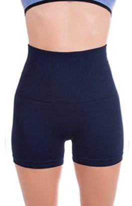 ±0 0 Higi Quality Comfortable Women Fitness Running Yoga Shorts Sports Mini Shorts - X SMALL NAVY