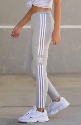 adidas Heather Grey Trefoil Leggings
