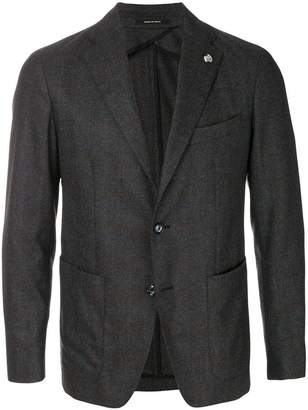 Tagliatore long sleeved fitted jacket