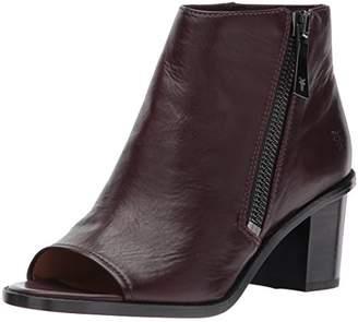 26c1da5f74e Frye Women s Brielle Zip PEEP Bootie Boot