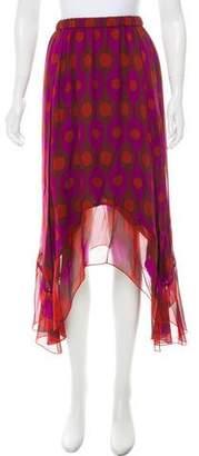 Diane von Furstenberg Silk Louella Skirt