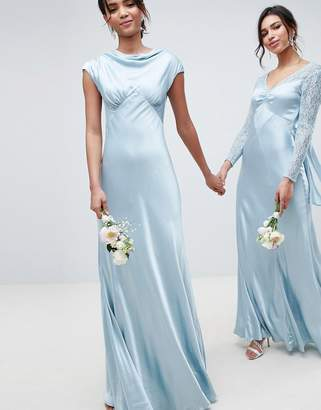 Ghost bridesmaid maxi dress with cowl neck