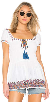 Raga Ensenada Peasant Top