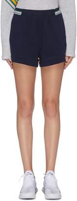 The Upside 'Ivy' stripe panel sweat shorts