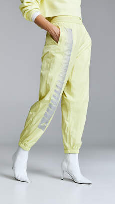 Alexander Wang Nylon Pants with Reflective Print Detail