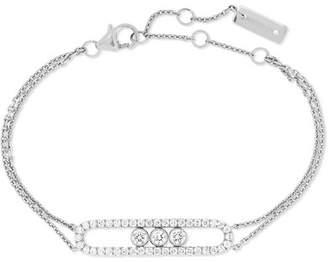 Möve Messika Classic 18-karat White Gold Diamond Bracelet