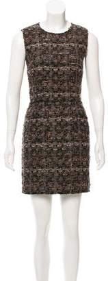 Dolce & Gabbana Sleeveless Bouclé Dress