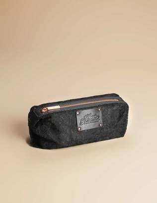 Agent Provocateur Small Lace Cosmetic Bag Black